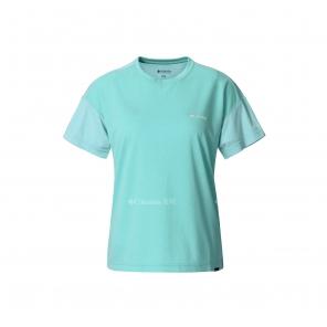 2019春夏女款休闲系列奥米吸湿短袖T恤