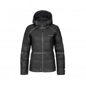 Columbia/哥伦比亚户外19新品秋冬女子钛金系列防雨羽绒服WR0803