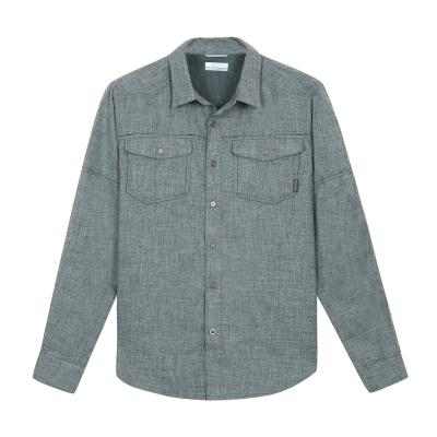 2016秋冬商品 男款 户外速干长袖衬衫