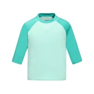 2016春夏商品  女童  户外舒适七分袖T恤