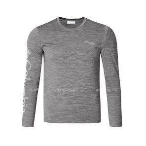 Columbia/哥伦比亚户外19新品秋冬男子奥米吸湿越野跑T恤AE0224