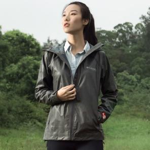 2019春夏新品钛金系列女款防雨冲锋衣