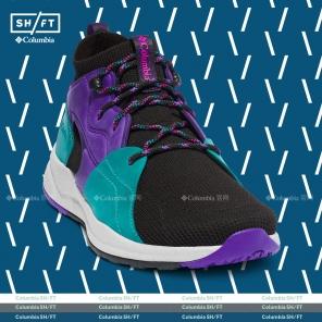Columbia/哥伦比亚户外19秋冬SH/FT中帮男子防水城市徒步鞋BM0819-014