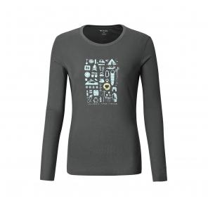 2018秋冬新品女款吸湿长袖T恤