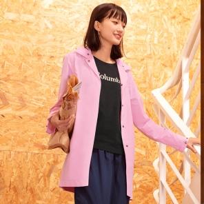2019新款春夏女士修身可打包休闲冲锋衣