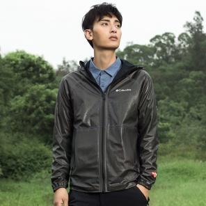 2019新款春夏男款防雨正反两穿修身冲锋衣