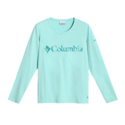 2016秋冬商品  女款 户外柔软舒适印花长袖T恤